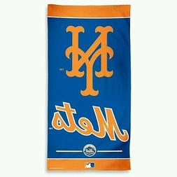 """NEW YORK METS GIANT BEACH TOWEL 30""""X60"""" HIGH QUALITY GRAPHIC"""
