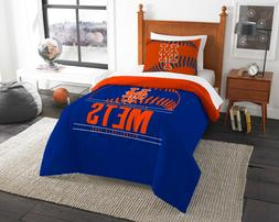 "New York Mets ""Grand Slam"" Twin Comforter Set OFFICIAL MLB"
