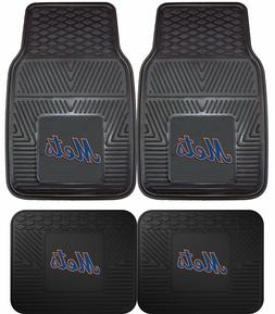 New York Mets Heavy Duty Vinyl Car, Truck, SUV Auto Floor Ma
