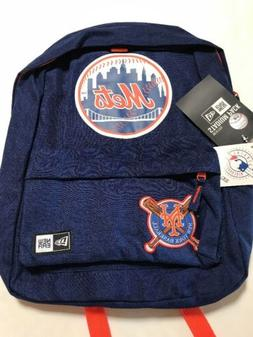 New Era New York Mets Heritage Patch Stadium Backpack NWT ML