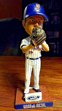 New York Mets Jacob deGrom Bobblehead SGA 7/7/18 NY Citi Fie