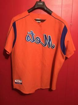 New York Mets Jersey Size 2XL Majestic Authentic Performance