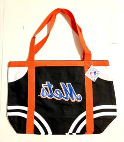 New York Mets Large Black Tailgate Shopping Beach Pool Tote