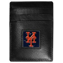 New York Mets Leather Money Clip Wallet & Card Holder  MLB B