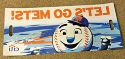 "New York Mets ""Let's Go Mets"" Poster/Banner - Citi 26"" x 12"""