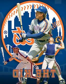New York Mets Lithograph print of  Gary Carter 11 x 14