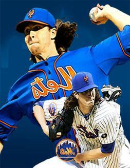 New York Mets Lithograph print of  Jacob deGrom