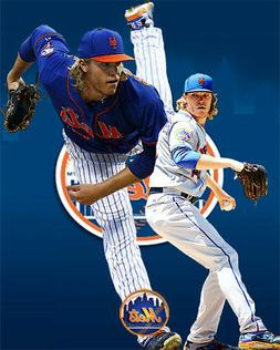 New York Mets Lithograph print of  Noah Syndergard