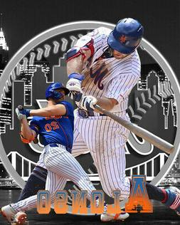 New York Mets Lithograph print of  Pete Alonso