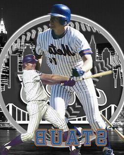 New York Mets Lithograph print of Rusty Staub