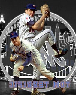 New York Mets Lithograph print of Tom Seaver  2020 tom Terri