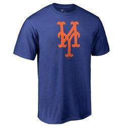 New York Mets Logo Short Sleeve Royal Blue T-Shirt Baseball