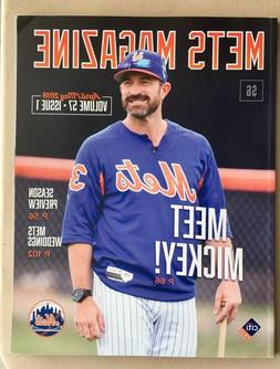 NEW YORK METS MAGAZINE APRIL/MAY 2018 VOLUME #57 ISSUE #1 CH