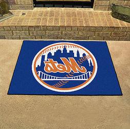 """New York Mets Man Cave 34""""x43"""" All-Star Area Rug Mat"""