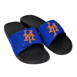 New York Mets Men's Cropped Big Logo Flip Flop,Sandal FREE S