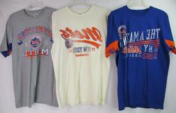 New York Mets Men's Large Graphic T-Shirt by Hands High THRE