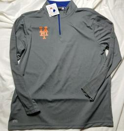 New York Mets Men's Long Sleeve Polyester Tshirt Majestic TX