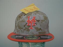 New York Mets Men's Marines Memorial Day Desert Camo New Era