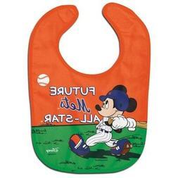 NEW YORK METS MICKEY MOUSE BABY BIB DISNEY MLB OFFICIALLY LI