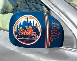 New York Mets Mirror Cover 2 Pack - Small  MLB Auto Elastic