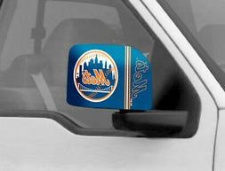 New York Mets Mirror Cover 2 Pack - Large Size  MLB Car Auto