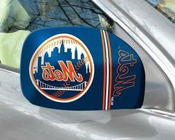 New York Mets Mirror Cover 2 Pack - Small Size  MLB Car Auto