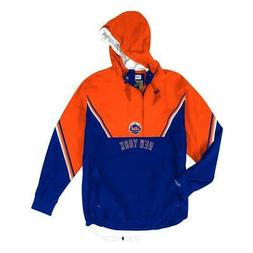 New York Mets Mitchell & Ness MLB Men's Anorak Half Zip Pull