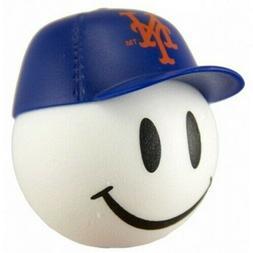 "NEW YORK METS MLB 2"" PENCIL ANTENNA TOPPER SMILEY FACE BALL"