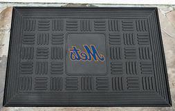 """New York Mets MLB 20""""x30"""" Rubber Door Welcome Entry Outdoor"""
