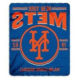 "New York Mets MLB Northwest 50""x60"" Southpaw Fleece Throw Bl"