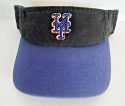 NEW YORK METS MLB AUTHENTIC NWT VISOR BY TWINS ENTERPRISES