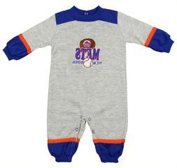 New York Mets MLB Baby Boys Infant Ball & Mitt Graphic Fleec
