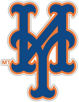 New York Mets MLB Baseball Car Bumper Window Sticker Decal 3