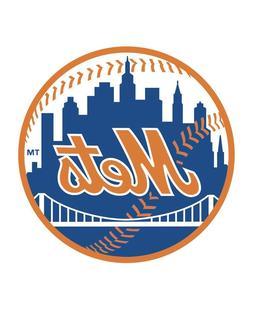 New York Mets MLB Baseball Digital Desk Clock Man Cave Offic