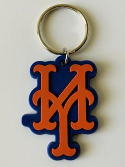 NEW YORK METS MLB BASEBALL KEYCHAIN KEYRING TEAM DECAL LOGO