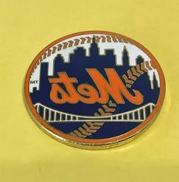 NEW YORK METS MLB BASEBALL NY CITY SKYLINE LOGO VINTAGE LAPE