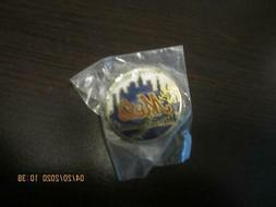 NEW YORK METS MLB BASEBALL PIN TEAM LOGO NEW NEVER USED