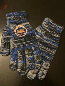 New York Mets MLB Baseball Team Logo Gloves Official - NEW -