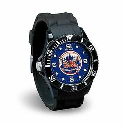 New York Mets MLB Baseball Team Men's Black Sparo Spirit Wat