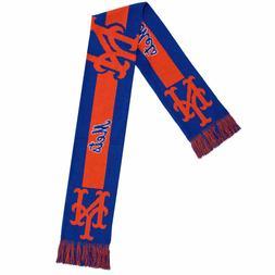 New York Mets Official MLB Big Logo Scarf Winter Warm Soft b