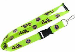 "New York Mets MLB Breakaway Lanyard Key Chain Ring 36"" Long"