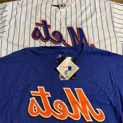 NEW YORK METS MAJESTIC MLB Fan Favorite BUNDLE 2XL JERSEY #5