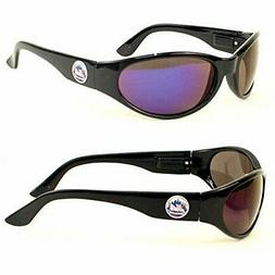 New York Mets MLB Full Black Frame Sun Revo Sunglasses UV Pr