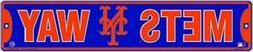"New York Mets MLB ""Mets Way"" Street Sign"