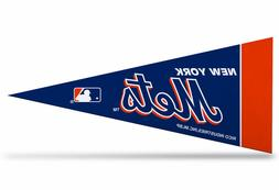 "New York Mets MLB Mini Pennant 9""x4"", New, Felt, Made in USA"