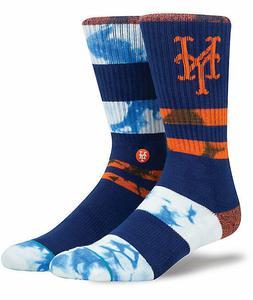 Stance New York Mets MLB Mix-Match Crew Socks Men's Sz L 9-1