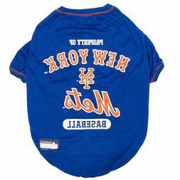 NEW YORK METS MLB Pet Dog TEE shirt