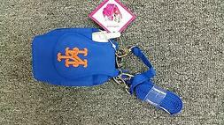 New York Mets MLB Purse Plus Blue Phone ID Case Wallet Charm