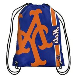 New York Mets MLB Side Stripe Big Logo Drawstring Back Pack