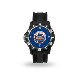 New York Mets MLB Team Black Band Model 3 Watch
